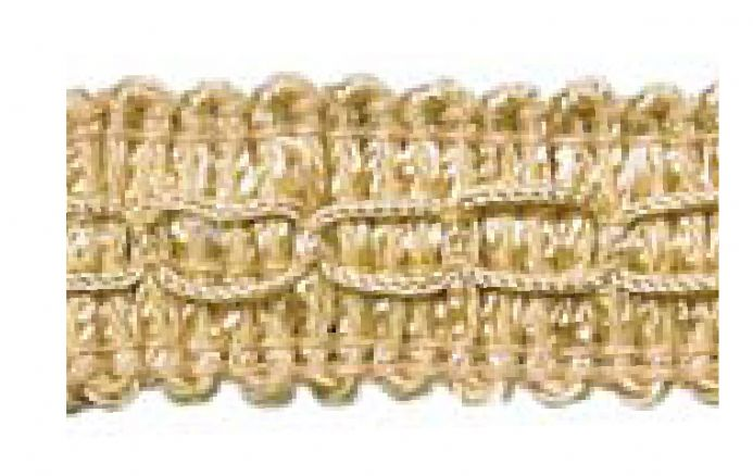 Gimp (Braided trim) 22mm  -  Beige C12 - Value Pack 22 mtrs